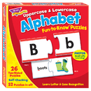 Trend Enterprises T-36010 Fun To Know Puzzles Uppercase & Lowercase Alphabet