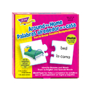 Trend Enterprises T-36012 Fun To Know Puzzles Around The Home Picture Words Bilingual