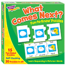 Trend Enterprises T-36016 What Comes Next Sequencing Puz Fun- To-Know Puzzles
