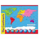 Trend Enterprises T-38098 Chart The Continents