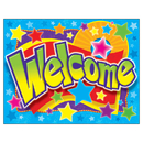 Trend Enterprises T-38334 Welcome Stars Learning Chart