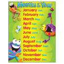 Trend Enterprises T-38412 Months Of The Year Frog-Tastic Learning Chart
