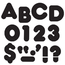 Trend Enterprises T-433 Ready Letters 2 Inch Casual Black