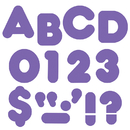 Trend Enterprises T-439 Ready Letters 2 Inch Casual Purple