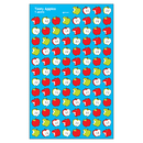 Trend Enterprises T-46070 Supershapes Stickers Tasty Apples