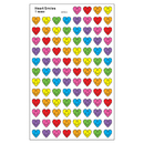Trend Enterprises T-46080 Heart Smiles Supershape Superspots Shapes Stickers