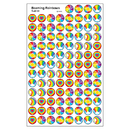 Trend Enterprises T-46161 Superspots Stickers Beaming Rainbow