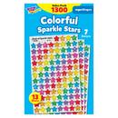 Trend Enterprises T-46910 Supershapes Variety 1300Pk Colorful - Stars Sparkle