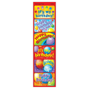Trend Enterprises T-47303 Applause Stickers Birthday 30/Pk Time Acid-Free Larger Size