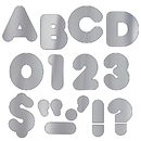 Trend Enterprises T-480 Ready Letters 4 Casual Metallic Silver