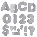 Trend Enterprises T-494 Ready Letters 2 Casual Metallic Silver