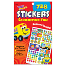 Trend Enterprises T-5008 Sticker Pad Schooltime Fun