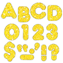 Trend Enterprises T-509 Ready Letters 2 Casual Yellow Sparkle