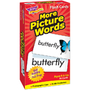 Trend Enterprises T-53005 Flash Cards More Picture 96/Box Words