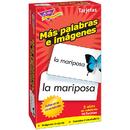 Trend Enterprises T-53007 Flash Cards Mas Palabras E 96/Box Imagenes