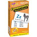 Trend Enterprises T-53009 Flash Cards Consonants 72/Box