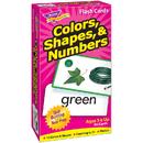 Trend Enterprises T-53011 Flash Cards Colors Shapes 96/Box Numbers