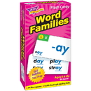 Trend Enterprises T-53014BN Flash Cards Word Families, 2 EA