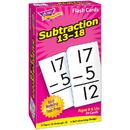 Trend Enterprises T-53104 Flash Cards Subtraction 13-18 99Box