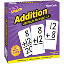 Trend Enterprises T-53201 Flash Cards All Facts 169/Box 0-12 Addition