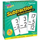 Trend Enterprises T-53202 Flash Cards All Facts 169/Box 0-12 Subtraction