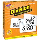 Trend Enterprises T-53204 Flash Cards All Facts 156/Box 0-12 Division