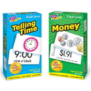 Trend Enterprises T-53905 Time And Money Flash Cards Asst