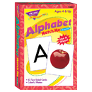 Trend Enterprises T-58001 Match Me Cards Alphabet 52/Box Two-Sided Cards Ages 4 & Up