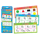 Trend Enterprises T-6601 Alphabet Numbers Colors & Shapes - Wipe Off Bingo