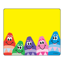 Trend Enterprises T-68013 Name Tags Colorful Crayons 36/Pk