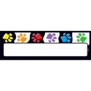 Trend Enterprises T-69070 Paw Prints Desk Toppers Name Plates