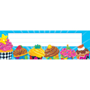 Trend Enterprises T-69211 Bake Shop Cupcakes Desk Toppers Name Plates