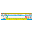 Trend Enterprises T-69401 Reference Size Name Plates Pk-1 - Zaner-Bloser Desk Toppers