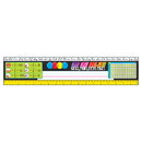 Trend Enterprises T-69406 Reference Size Name Plates G3-5 - Modern Desk Toppers