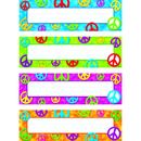 Trend Enterprises T-69908 Peace Signs Desk Toppers Name Plates Variety Pk