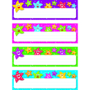 Trend Enterprises T-69909 Dancing Stars Desk Toppers Name Plates Variety Pk