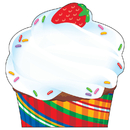 Trend Enterprises T-72073 Bake Shop Cupcake Note Pad Shaped