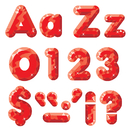 Trend Enterprises T-79941 Red Gems Ready Letters 4In Upper Lowercase Combo