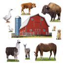 Trend Enterprises T-8281 Animals On The Farm Bb Set