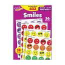 Trend Enterprises T-83903 Stinky Stickers Smiles 432/Pk Variety Pk Acid-Free