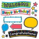 Trend Enterprises T-8393 Bold Strokes Celebration Signs Bb