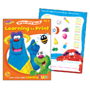 Trend Enterprises T-94145 Learning To Print Furry Friends Wipe Off Book Gr Pk-K