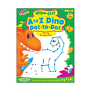 Trend Enterprises T-94161 A To Z Dino Dot To Dot Dino-Mite - Pals Wipe Off Book