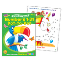 Trend Enterprises T-94222 Numbers 1-31 Dot To Dot Wipe Off Book