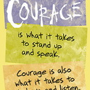 Trend Enterprises T-A63239 Poster Courage Is What It Takes