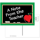 Teacher Created Resources TCR1202 A Note From The Teacher 30Pk Postcards 4X6