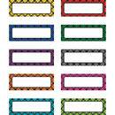 Teacher Created Resources TCR20622 Plaid Magnetic Labels