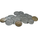 Teacher Created Resources TCR20639 Play Money Assorted Coins