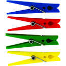 Teacher Created Resources TCR20649 Plastic Clothespins