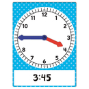 Teacher Created Resources TCR20710 Magnetic Foam Geared Clock Large